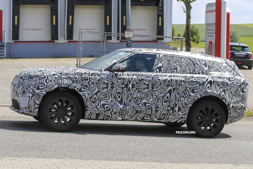 SPIED: L560 Range Rover Sport Coupe testing; alloy platform-based sister model to the Jaguar F-Pace Image #507563