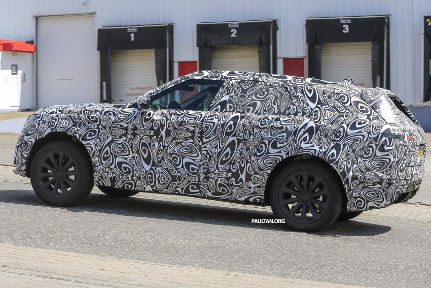 SPIED: L560 Range Rover Sport Coupe testing; alloy platform-based sister model to the Jaguar F-Pace Image #507570