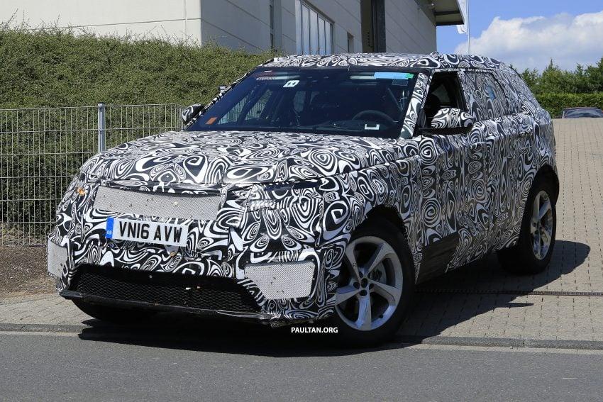 SPIED: L560 Range Rover Sport Coupe testing; alloy platform-based sister model to the Jaguar F-Pace Image #522664