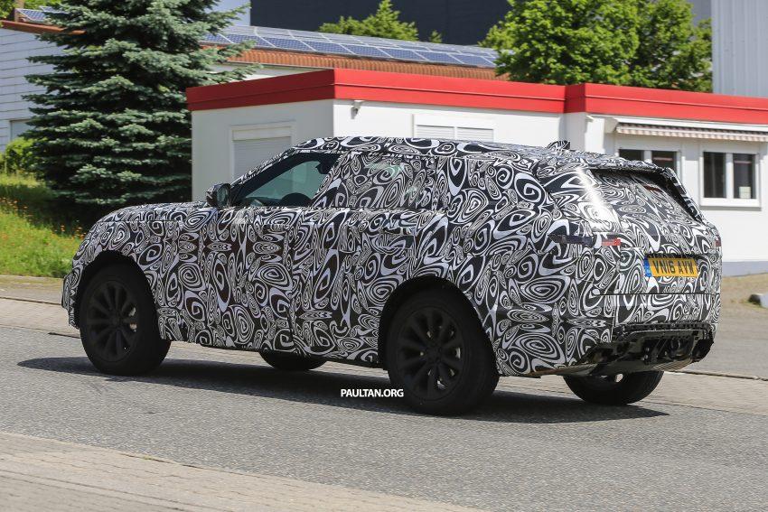SPIED: L560 Range Rover Sport Coupe testing; alloy platform-based sister model to the Jaguar F-Pace Image #507571