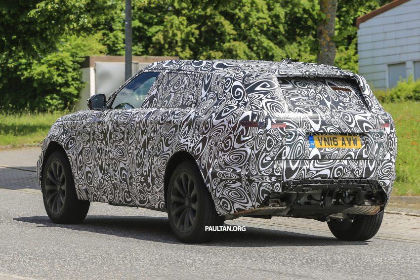 SPIED: L560 Range Rover Sport Coupe testing; alloy platform-based sister model to the Jaguar F-Pace Image #507574