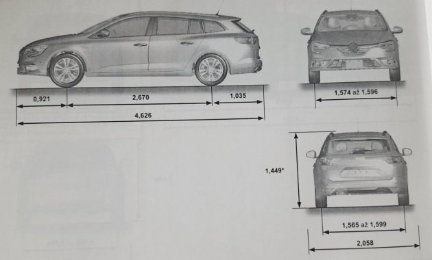 renault megane sedan leaked in owners manual. Black Bedroom Furniture Sets. Home Design Ideas