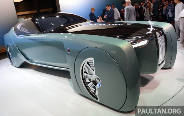 Rolls royce vision next the future of opulence
