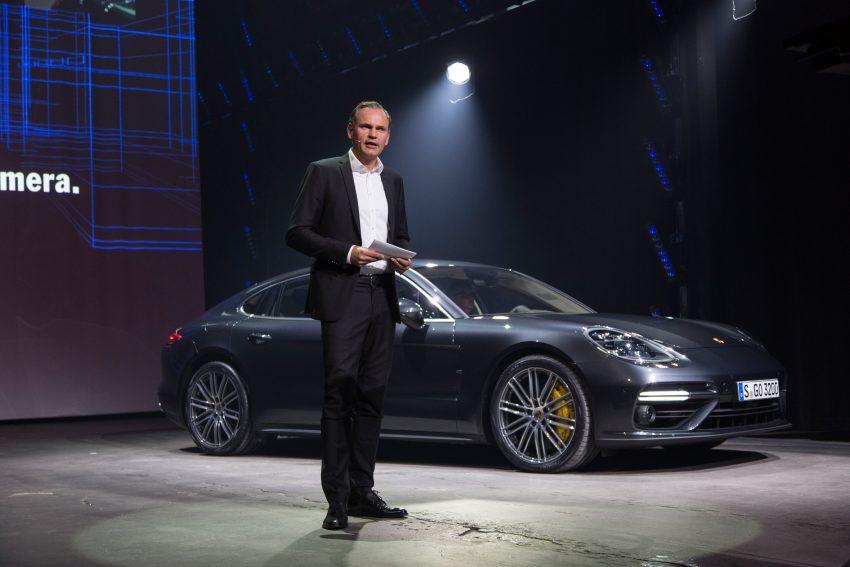 2017 Porsche Panamera – second-gen debuts in Berlin Image #513502