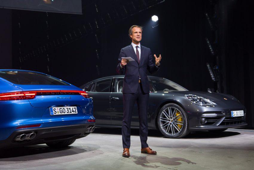 2017 Porsche Panamera – second-gen debuts in Berlin Image #513501