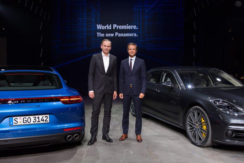 2017 Porsche Panamera – second-gen debuts in Berlin Image #513500