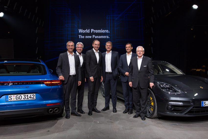 2017 Porsche Panamera – second-gen debuts in Berlin Image #513499