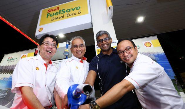 Shell Euro 5 diesel