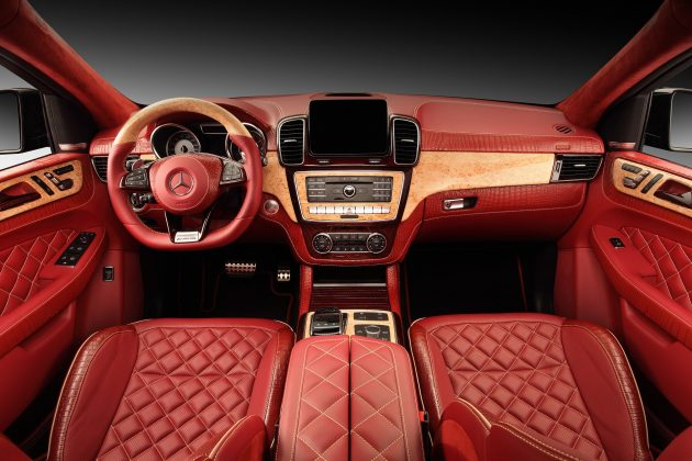 Topcar Mercedes GLE Coupe Inferno crocodile 1