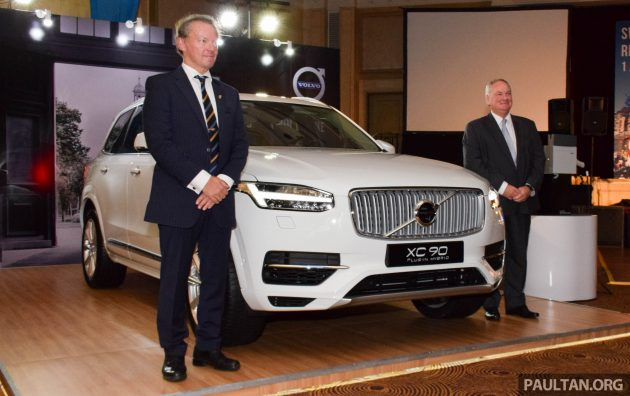 Volvo XC90 CKD launch