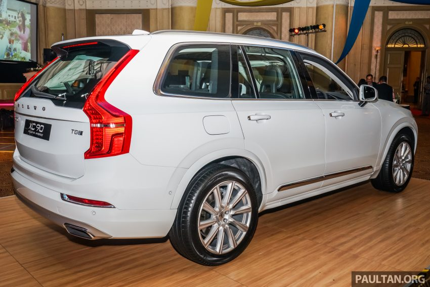 Volvo XC90 T8 Twin Engine CKD launched in Malaysia, RM403,888 for locally-assembled plug-in hybrid SUV Image #502863