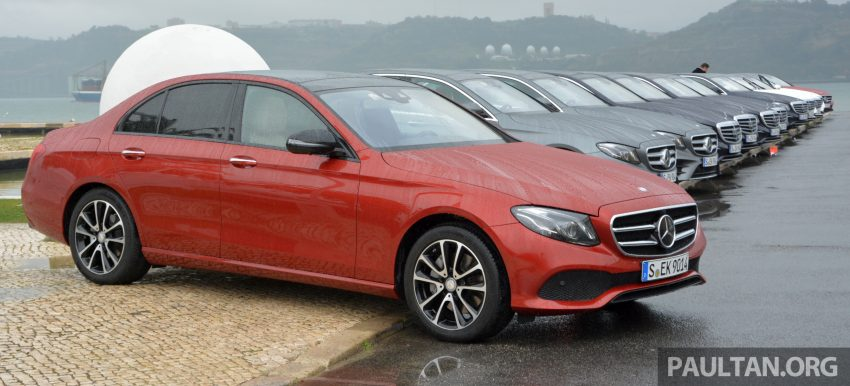 DRIVEN: W213 Mercedes-Benz E-Class in Lisbon Image #504871