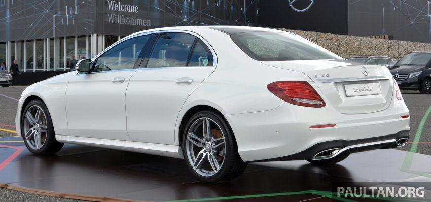 DRIVEN: W213 Mercedes-Benz E-Class in Lisbon Image #504858