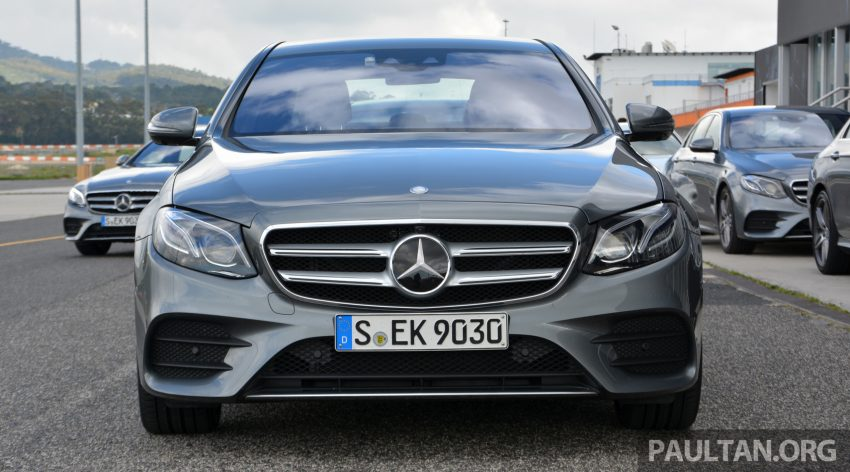 DRIVEN: W213 Mercedes-Benz E-Class in Lisbon Image #504859