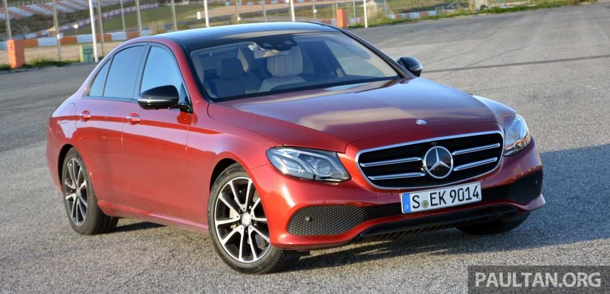 Watch the launch of the W213 Mercedes-Benz E-Class