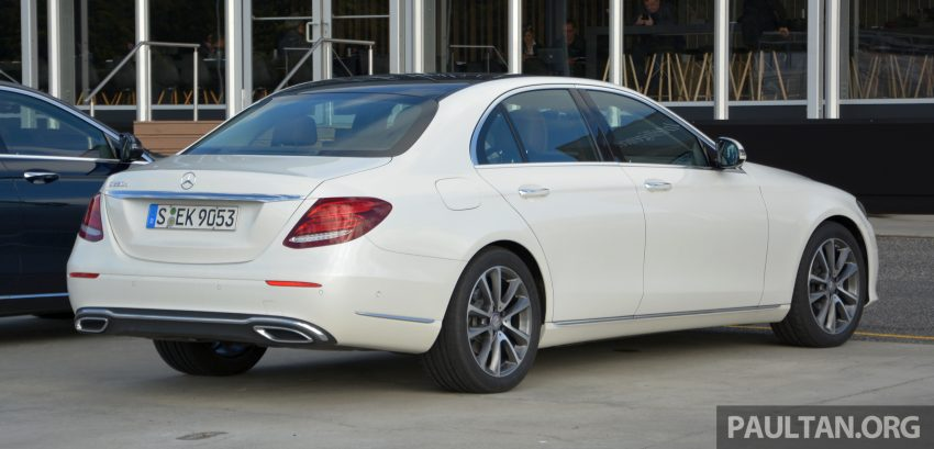DRIVEN: W213 Mercedes-Benz E-Class in Lisbon Image #504848