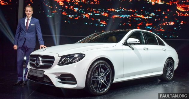 W213 Mercedes-Benz E-Class launch 2