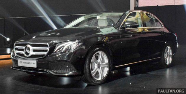 W213 Mercedes-Benz E200 Avantgarde 1
