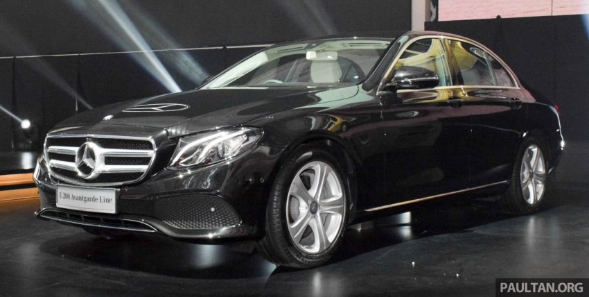 W213 Mercedes-Benz E-Class introduced in Malaysia – E200, E250, E300, four variants, priced from RM396k Image #505879