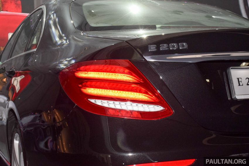 W213 Mercedes-Benz E-Class introduced in Malaysia – E200, E250, E300, four variants, priced from RM396k Image #505888