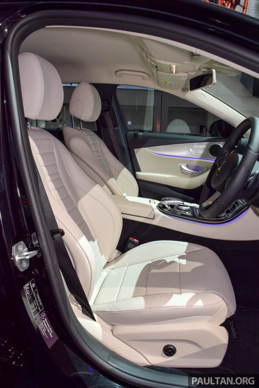 W213 Mercedes-Benz E-Class introduced in Malaysia – E200, E250, E300, four variants, priced from RM396k Image #505896