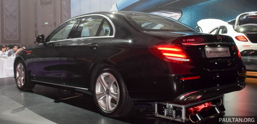 W213 Mercedes-Benz E-Class introduced in Malaysia – E200, E250, E300, four variants, priced from RM396k Image #505880