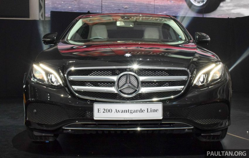 W213 Mercedes-Benz E-Class introduced in Malaysia – E200, E250, E300, four variants, priced from RM396k Image #505881