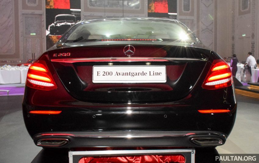 W213 Mercedes-Benz E-Class introduced in Malaysia – E200, E250, E300, four variants, priced from RM396k Image #505882