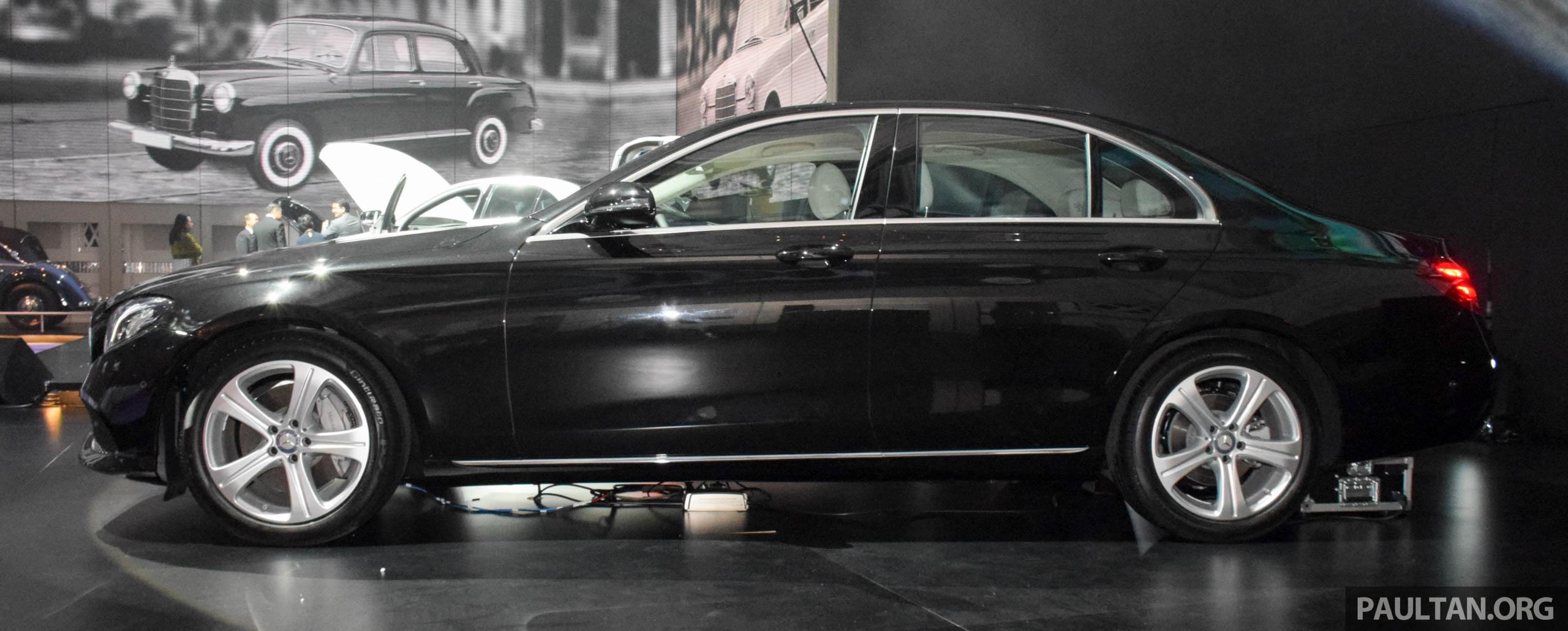 Mercedes Benz E Class W213 Dilancarkan Di Malaysia Cbu