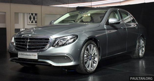 W213 Mercedes Benz E Cl Pricing Revealed For E250 Avantgarde And Exclusive From Rm421k