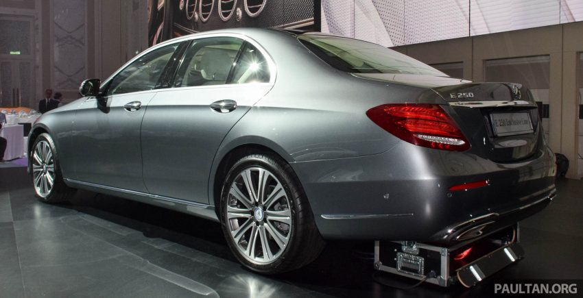 W213 Mercedes-Benz E-Class introduced in Malaysia – E200, E250, E300, four variants, priced from RM396k Image #505840