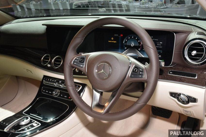 W213 Mercedes Benz E Class Introduced In Malaysia E200