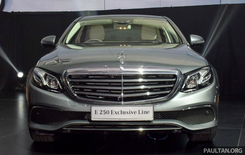 W213 Mercedes-Benz E-Class introduced in Malaysia – E200, E250, E300, four variants, priced from RM396k Image #505841