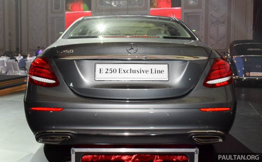 W213 Mercedes-Benz E-Class introduced in Malaysia – E200, E250, E300, four variants, priced from RM396k Image #505842