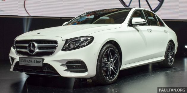 w213 mercedes-benz e300 amg line malaysian price confirmed, from