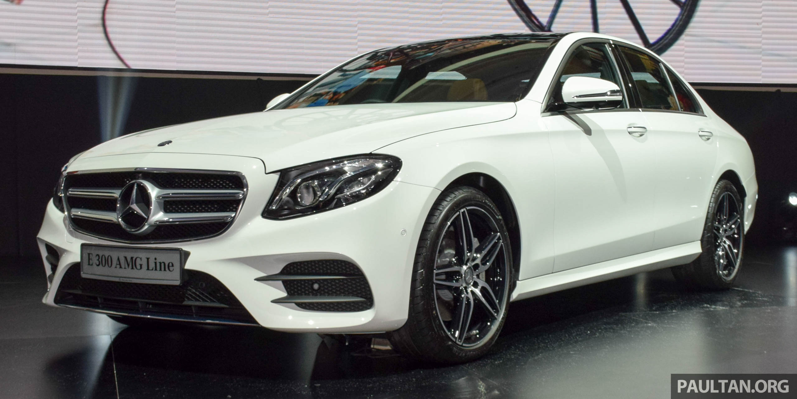 W213 mercedes benz e300 amg line malaysian price confirmed for Mercedes benz malaysia