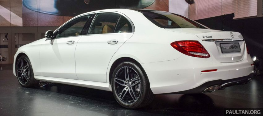 W213 Mercedes-Benz E-Class introduced in Malaysia – E200, E250, E300, four variants, priced from RM396k Image #505789