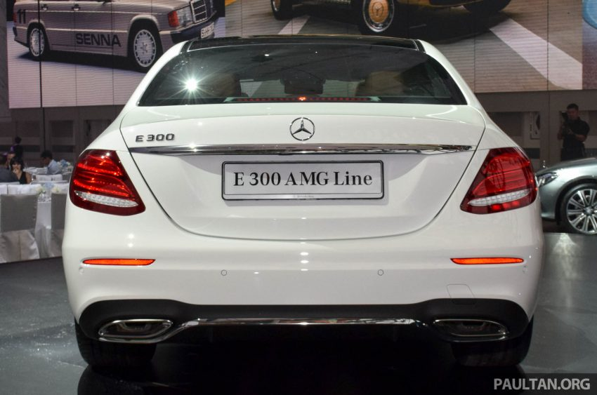 W213 Mercedes-Benz E-Class introduced in Malaysia – E200, E250, E300, four variants, priced from RM396k Image #505791