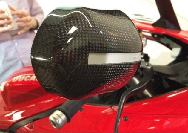 Zercado smart motorcycle mirror - 1
