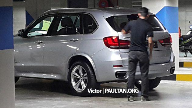 Spied Bmw X5 Xdrive40e Hybrid In Kl Parking Lot