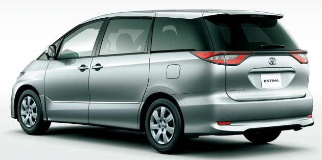 2016 Toyota Estima facelift officially revealed in Japan