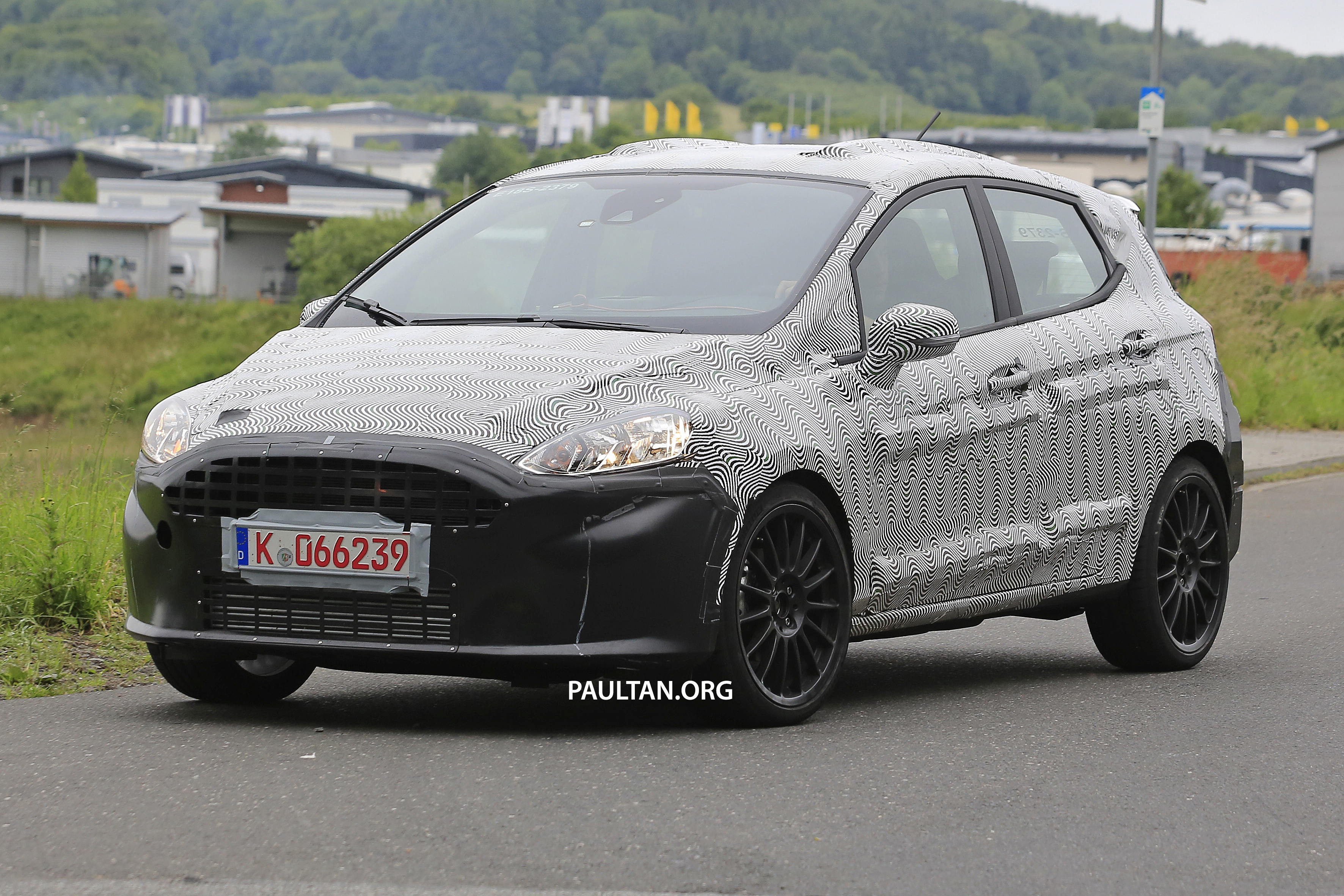 Back to Story: SPYSHOT: Ford Fiesta ST 2020 lima pintu