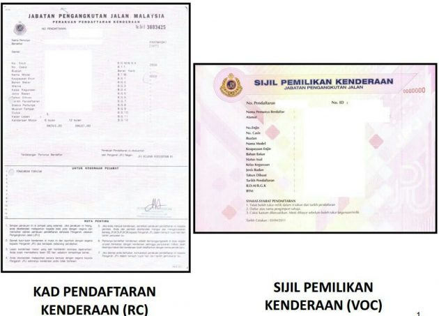 Local Car Insurance >> JPJ introduces Vehicle Ownership Certificate as ...