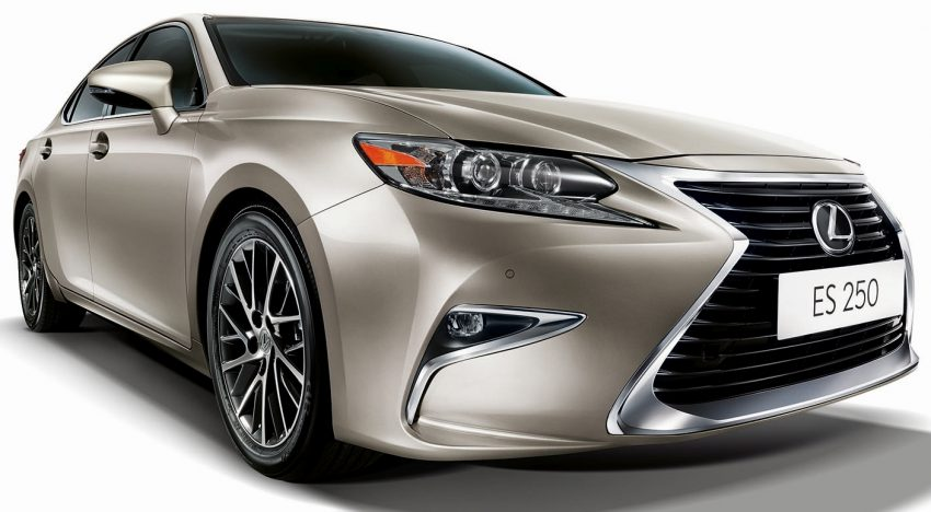 Lexus Malaysia introduces limited-edition ES250 Luxury – two exclusive colours, only 50 units Image #506687