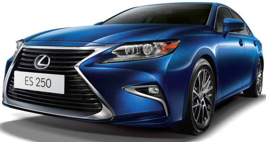 Lexus Malaysia introduces limited-edition ES250 Luxury – two exclusive colours, only 50 units Image #506686