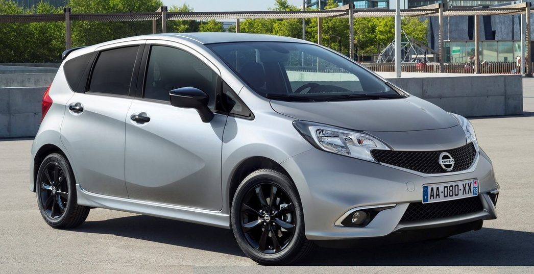 nissan note black edition new variant with extra kit. Black Bedroom Furniture Sets. Home Design Ideas