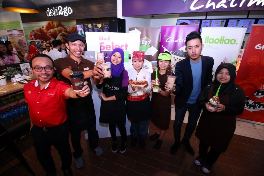 Shell introduces Chatime, Llaollao and Gindaco outlets at Shell Select store in Taman Connaught, Cheras Image #502821