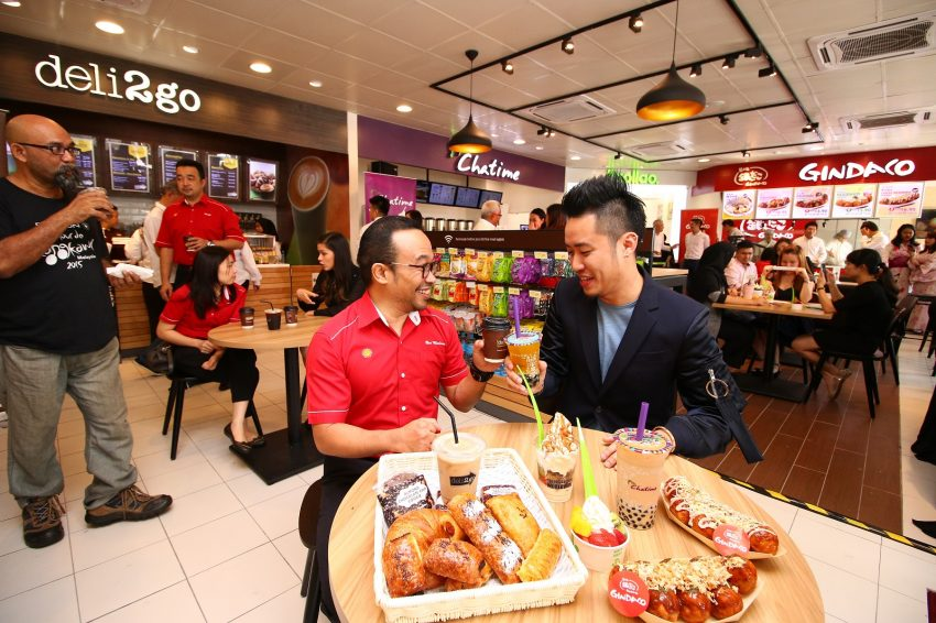 Shell introduces Chatime, Llaollao and Gindaco outlets at Shell Select store in Taman Connaught, Cheras Image #502822