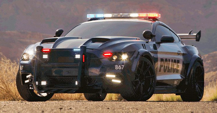 Old Cop Cars For Sale >> Transformers 5: Barricade returns as 2016 Mustang