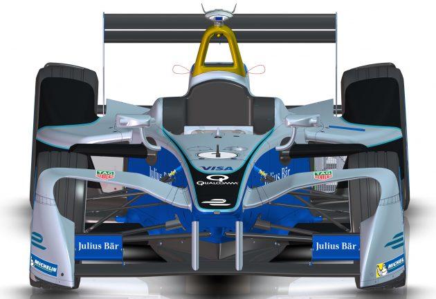 2016-2017 Formula E race car 2